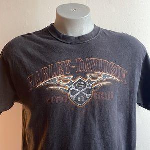 Harley-Davidson Red Rock Charlottetown T Shirt Size Large